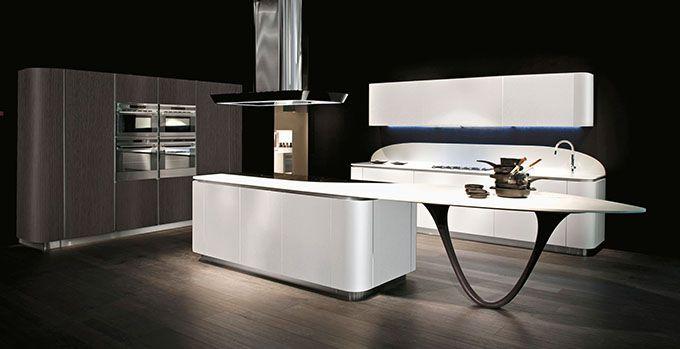 Consejos cocinas grandes ola20 pininfarina design ortiz for Cocinas grandes